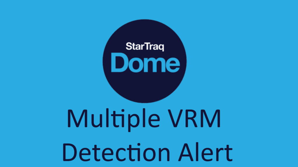 Multiple VRM Detection Alert (0:43)