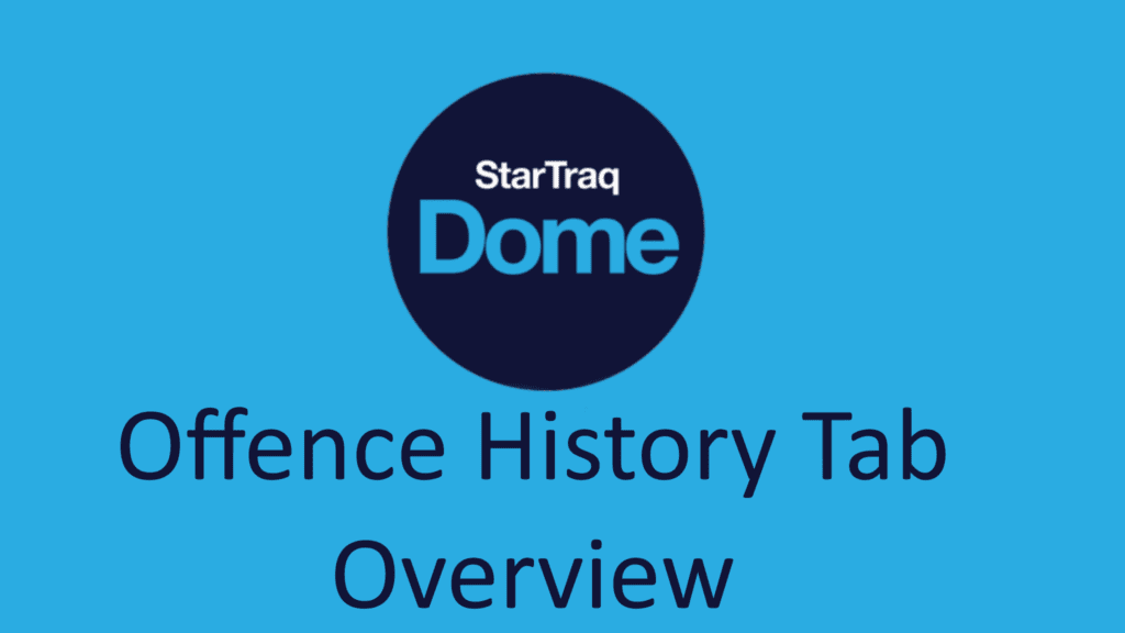 10. Offence History Tab Overview (1:14)