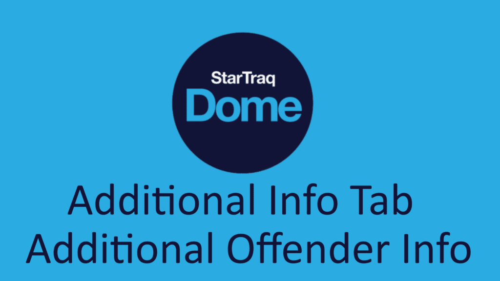02. Additional Offender Info Overview (0:43)