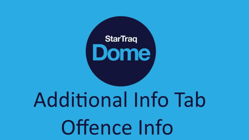 01. Offence Info Overview (0:54)