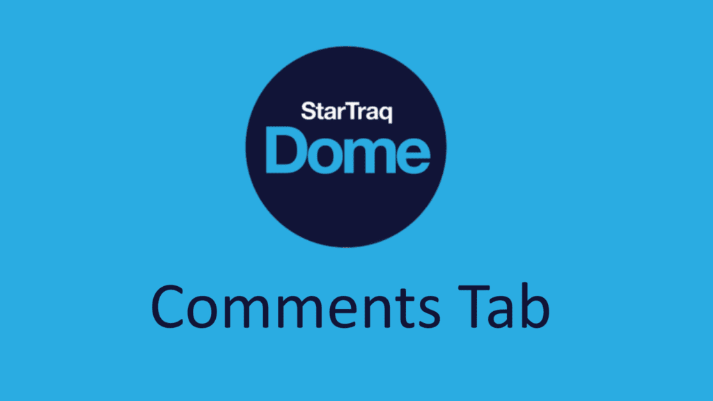 08. Comments Tab Overview (1:19)