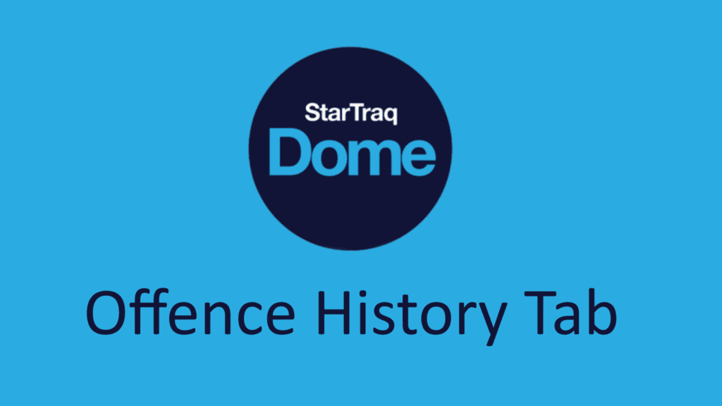 11. Offence History Tab Overview (1:14)