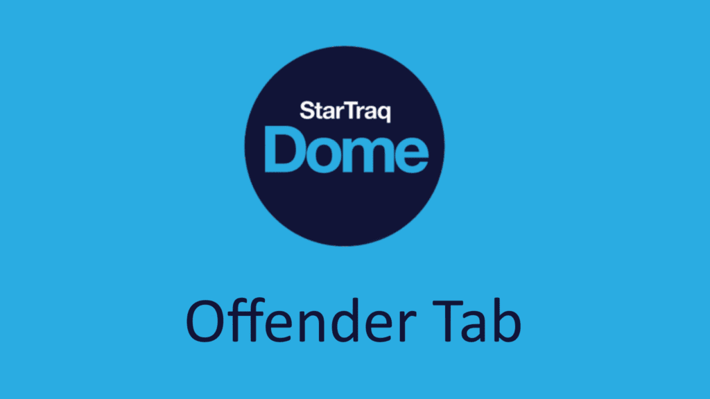 04. Offender Tab Overview (1:09)