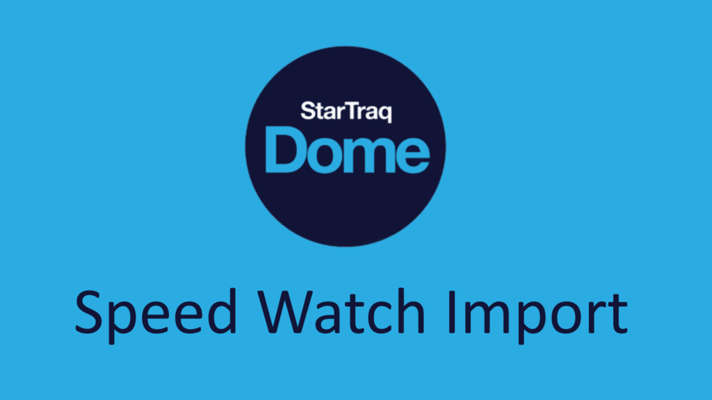 Speed Watch Import (01:28)
