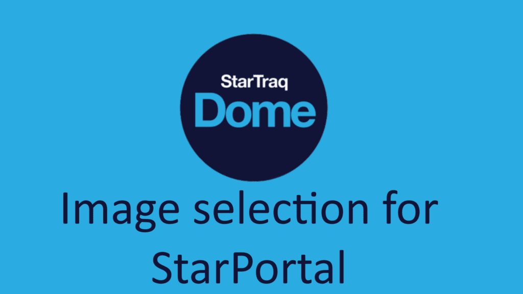 Image Selection For StarPortal (0:56)