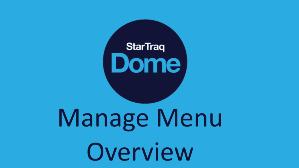 01. Manage Menu Overview (01:02)