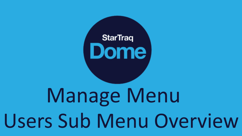 02. Users Sub Menu Overview (0:36)